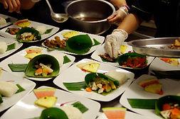 traiteur cuisine asiatique repas assis paris