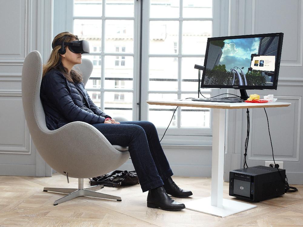 animation simulateur montagnes russes réalité virtuelle