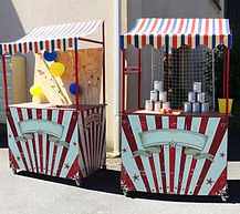 location stand jeux forains