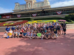 Taking on the Magic Kingdom today!_Band marches at 2_30!