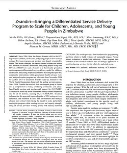 Zvandiri bringing DSD program to scale (