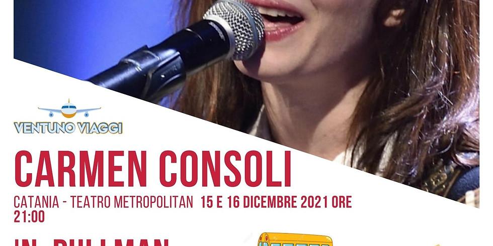 CONCERTO CARMEN CONSOLI