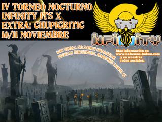 IV Torneo Nocturno Infinity HL (10-11 nov)