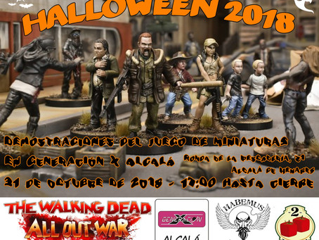 Iniciación a The Walkling Dead en Halloween