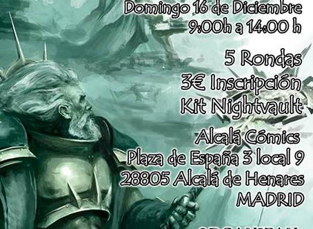 TORNEO NIGHTVAULT (Warhammer Underworlds) (16 dic)