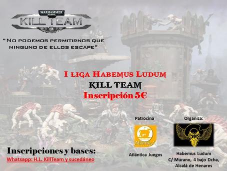 1ª LIGA KILL TEAM HL (14 ene 2019)