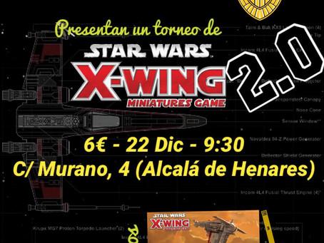 TORNEO X-WING 2.0 (22 dic)