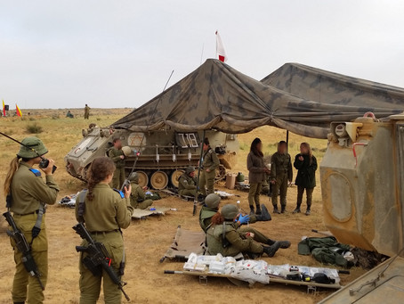 SiMedic Trauma Provides HFS for IDF Medical Officers Training Drill