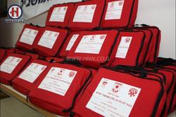 Burn shield bags