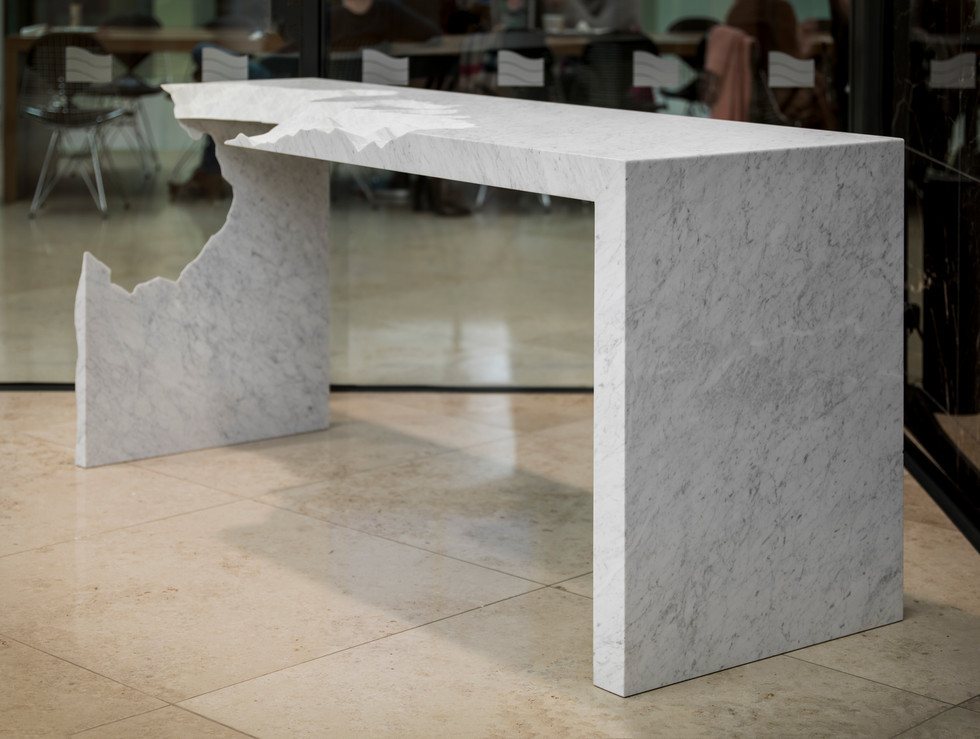 Information Ate My Table (White)