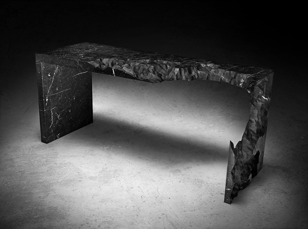 Information Ate My Table (Black)