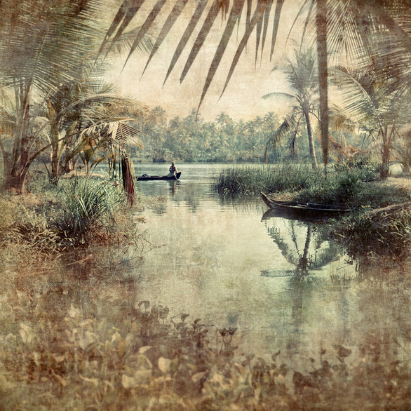 The backwaters slow