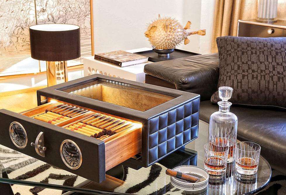 Tabletop Humidor Luxurysafes