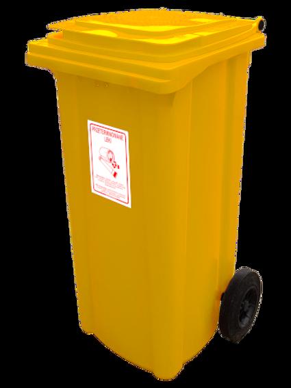 Atkritumu tvertne (120l; 240l)