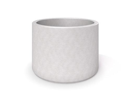 DECO pelēks betona stādītājs 07