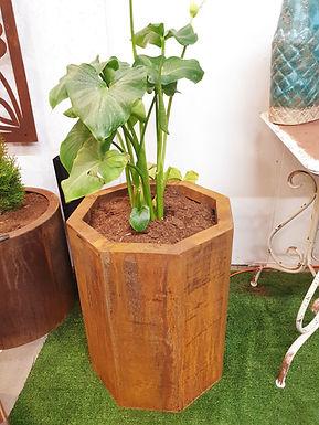 Corten steel planter 46 x 60cm (h)