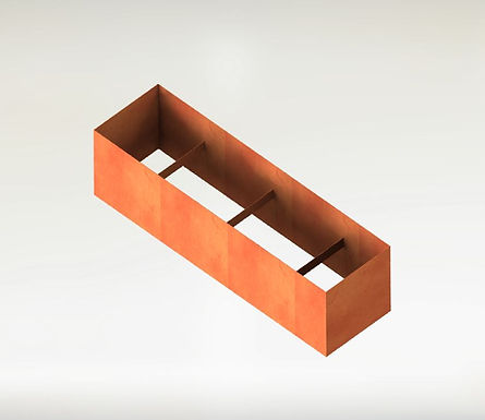 Rektangulära Odlingsram 300x25x110(h)cm
