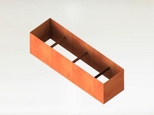 Rektangulära Odlingsram 300x90x60(h)cm