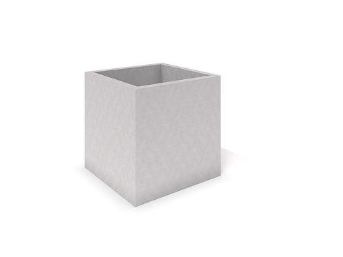 DECO pelēks betona stādītājs 06