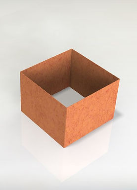 Kvadratiska Odlingsram 50x50x50(h)cm