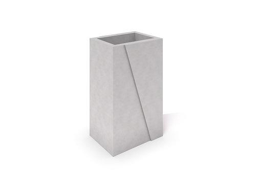 DECO balts betona stādītājs 02