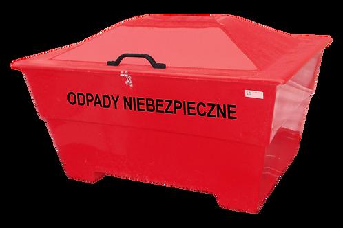 Tvertne bīstamiem atkritumiem 450L