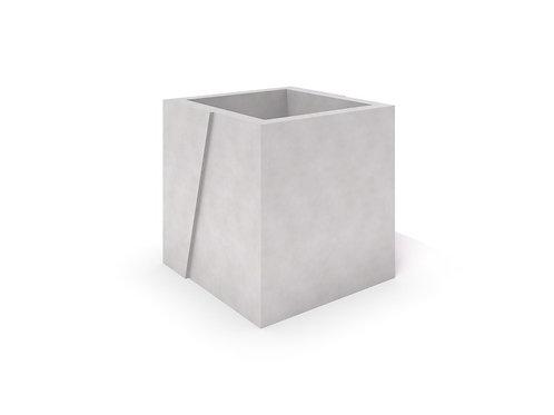 DECO balts betona stādītājs 01