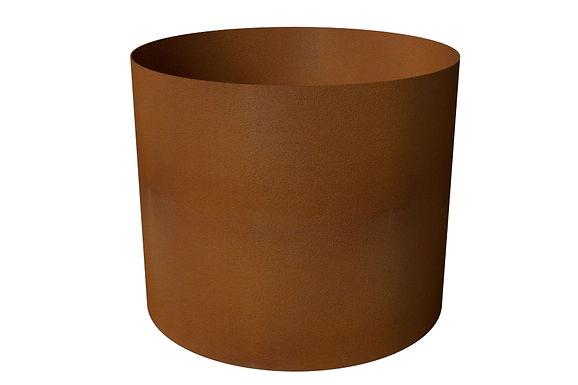 Rund kruka med botten D60x50(h)cm