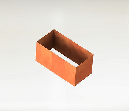 Rektangulära Odlingsram 90x50x40(h)cm