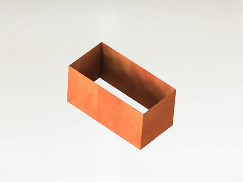 Rektangulära Odlingsram 100x70x100(h)cm