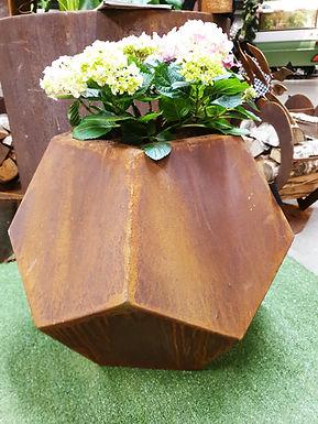 Corten planter 58cm x 50cm (h)