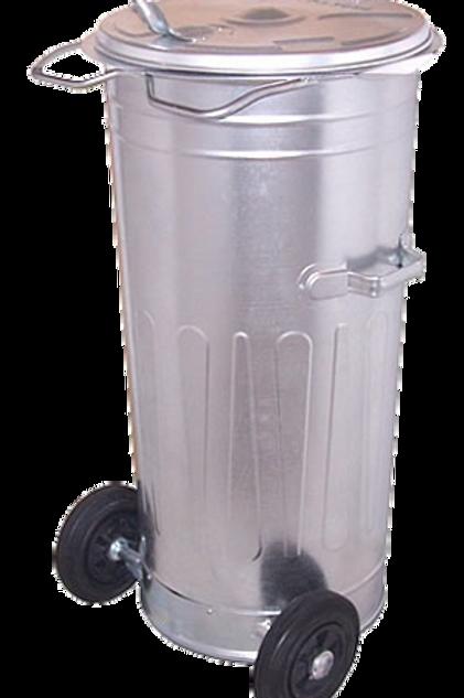SM-110K atkritumu tvertne- ar riteņiem