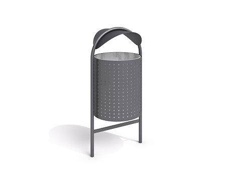tērauda atkritumu tvertne 12