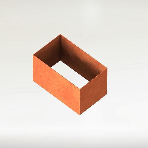 Rektangulära Odlingsram 50x25x80(h)cm
