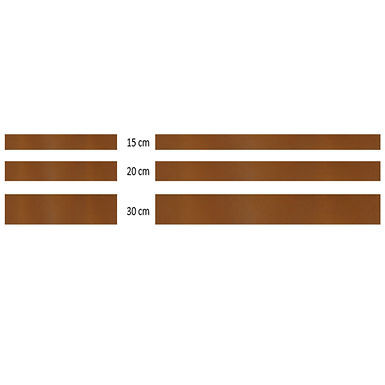 Kantstöd 300X15- 3mm