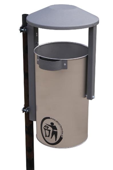 LILIA atkritumu tvertne - pulēts