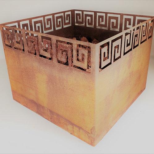 Planteringskärl kvadratiska 45x45x35
