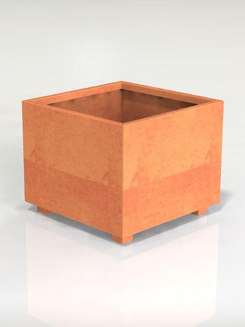 Kvadratiska kruka med botten 70x70x80(h)cm