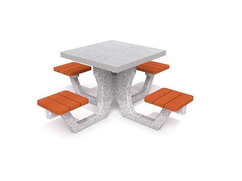 Betona piknika galds 01
