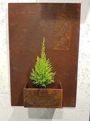 Vägg blomkruka 60 x40cm Nr. 2