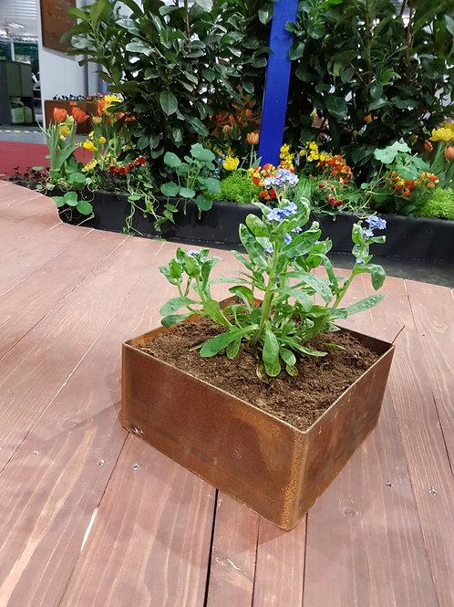 Planteringskärl kvadratiska 25x45x20(h)cm