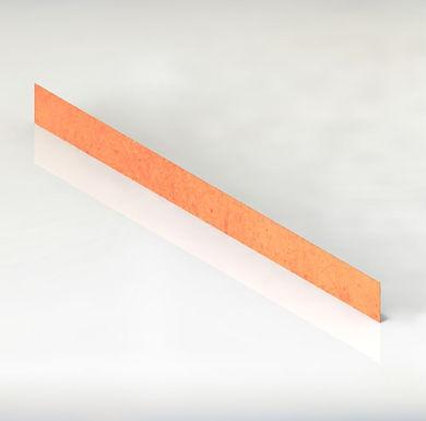 Corten Rabattkant plåt 15x150cm