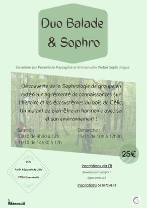 Duo Balade & Sophro la suite !