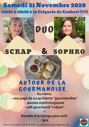 Nouveau concept Duo Scrap et Sophro