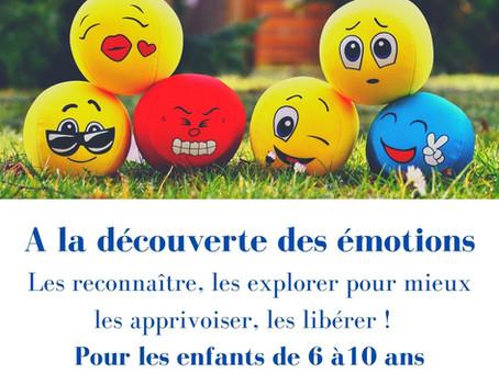 """Atelier """"A la découverte des émotions"""""""