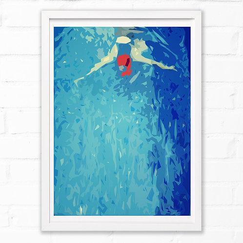 Swim Print