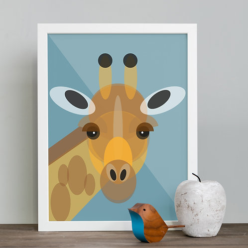 Giraffe Children's Print