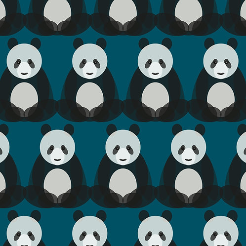 Giant Panda Wrapping Paper