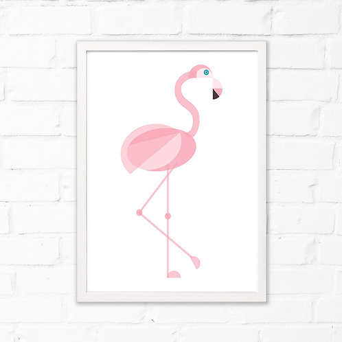 Flamingo Children's Print