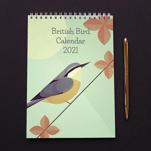 British Bird Calendar 2021